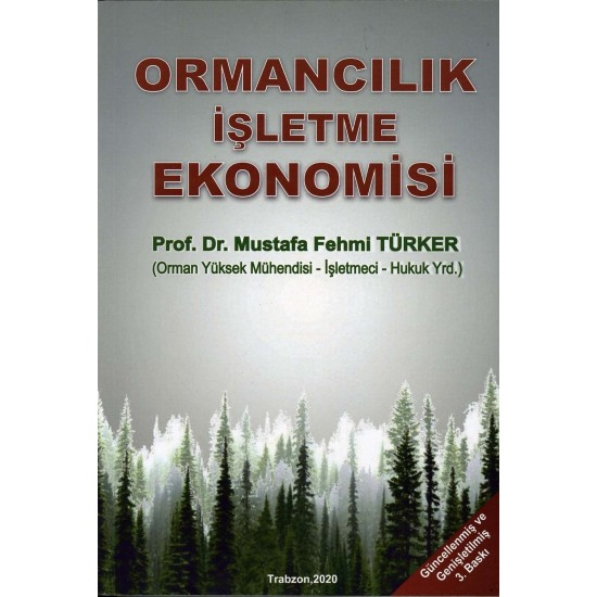 Ormancılık İşletme Ekonomisi